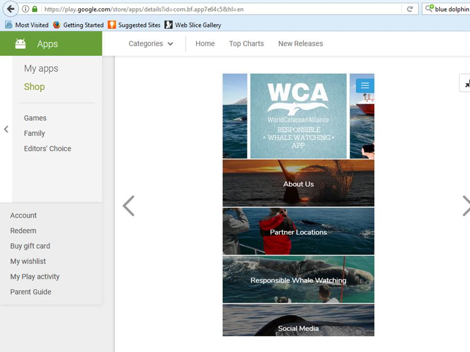LAUNCH: WCA Responsible Whale Watching App